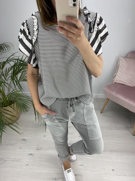 Spodnie dresowe Chillout szare