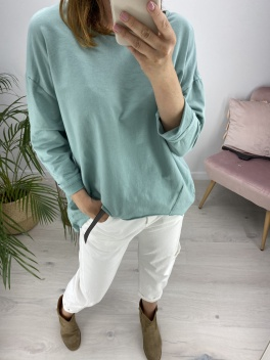 Bluza stay calm mint