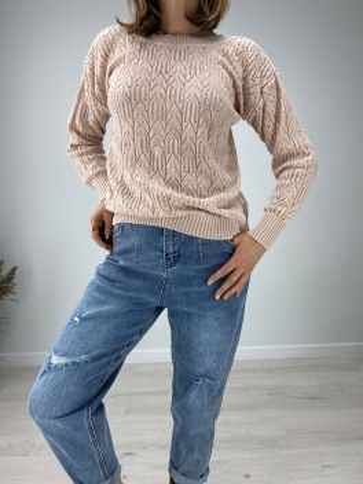 Sweterek ażurowy Cleo