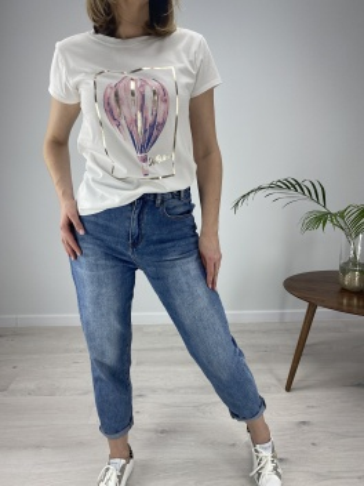 T-shirt Baloon pink