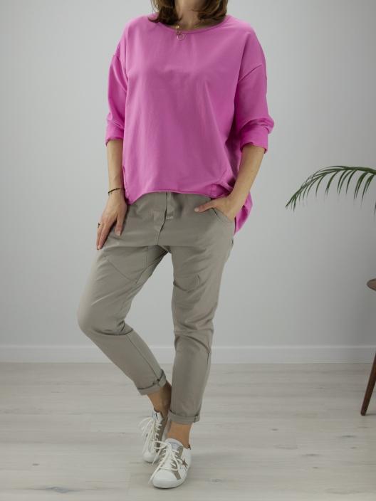 Bluza stay calm pink