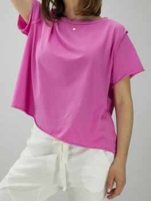 Bluzka Raw pink
