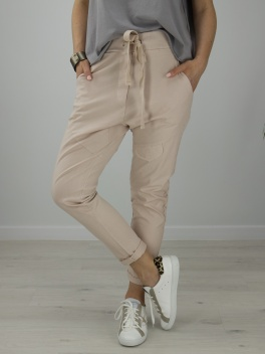 Spodnie buggy puder