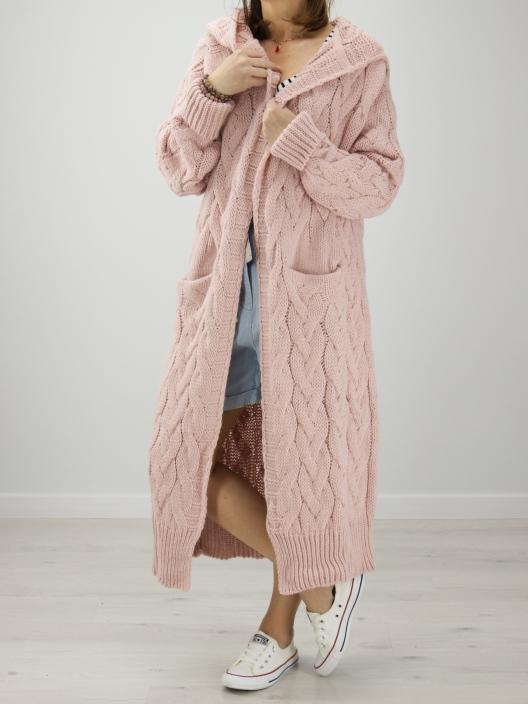 Sweterek Maxi puder