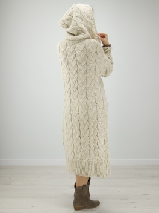 Sweterek Maxi beż
