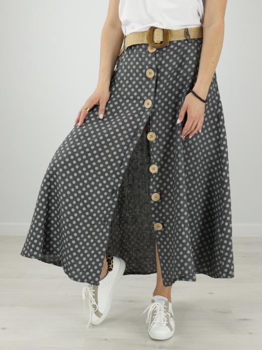 Spódnica Lino w groszki