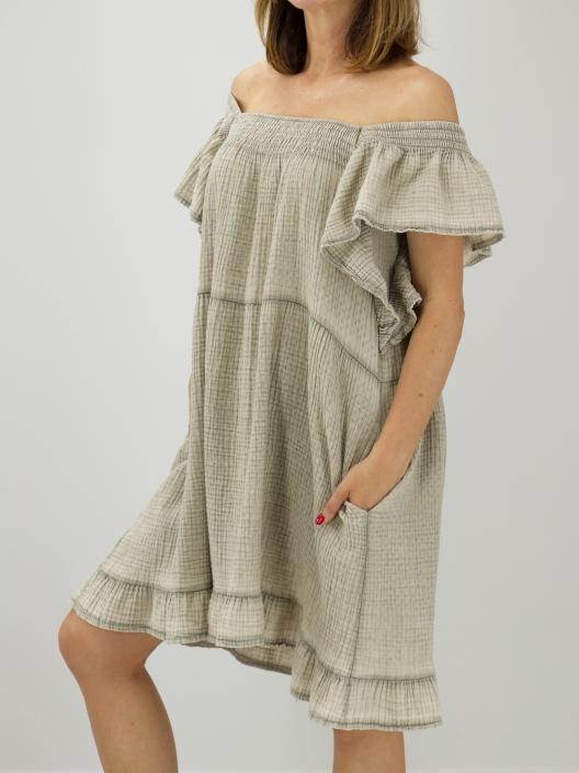 Muślinowa sukienka Vila