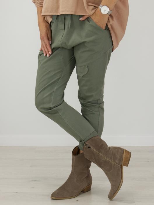 Spodnie buggy khaki