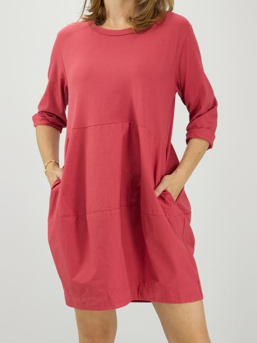 Sukienka Basic malina