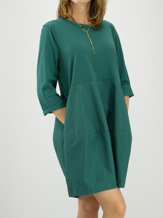 Sukienka Basic szmaragd