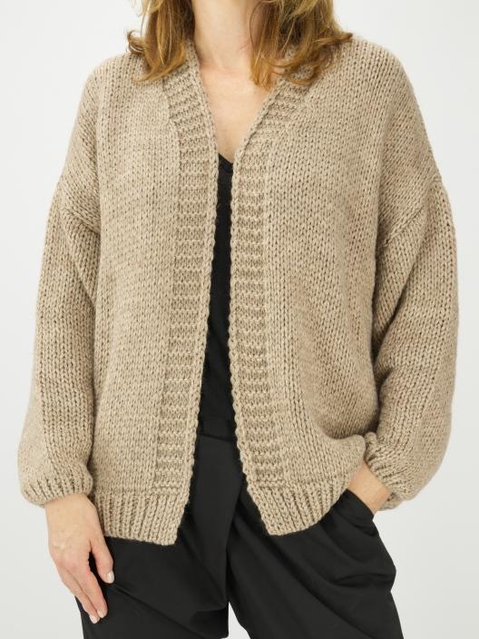 Sweter ze ściągaczowym...