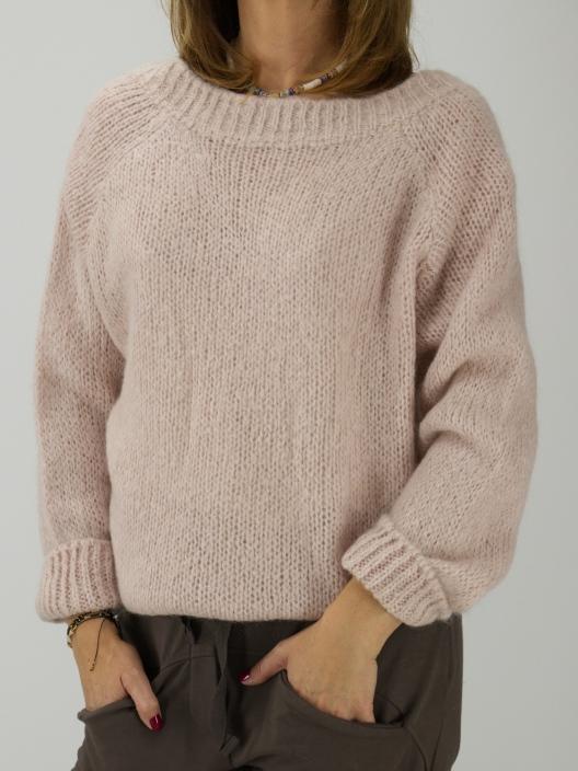 Sweter z moherem na dwa...