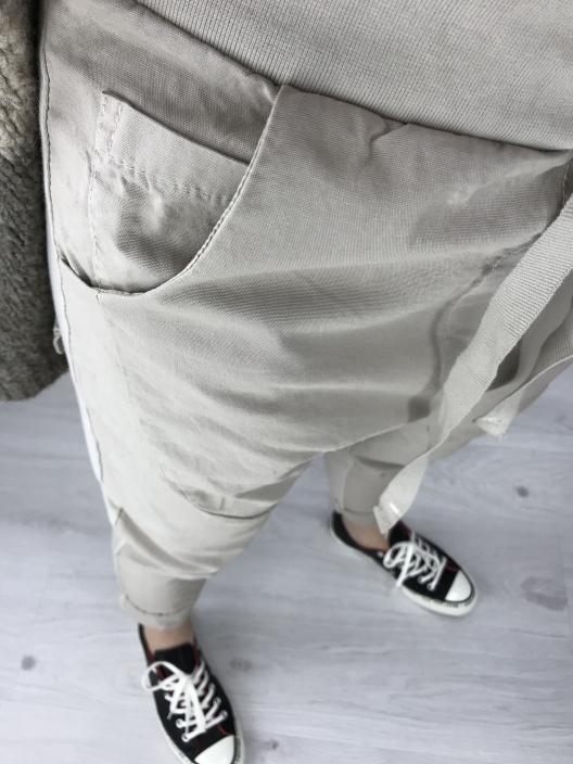 Spodnie buggy piaskowe